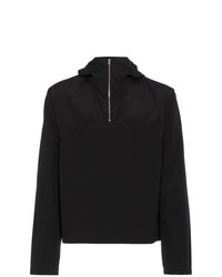 Mackintosh 0002 Rubberised Wool Cotton Blend Zip Jacket