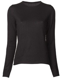 Black crew neck sweater original 1328379