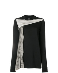 Rick Owens Appliqu Front Sweater