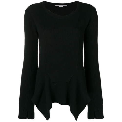 Stella McCartney Asymmetric Hem Jumper