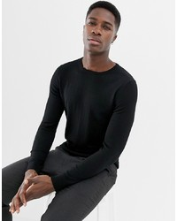 Jack & Jones Essentials 100% Merino Crew Neck Jumper