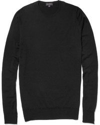 John Smedley Marcus Crew Neck Merino Wool Sweater