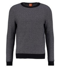 Hugo Boss Kuvudo Jumper Mottled Black