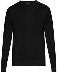Lanvin Crew Neck Wool And Cotton Blend Sweater