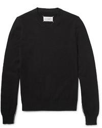 Maison Margiela Contrast Trimmed Cotton Sweater