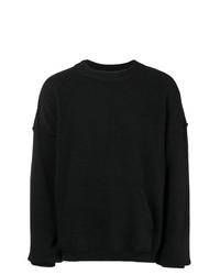Andrea Ya'aqov Oversized Crew Neck Sweater