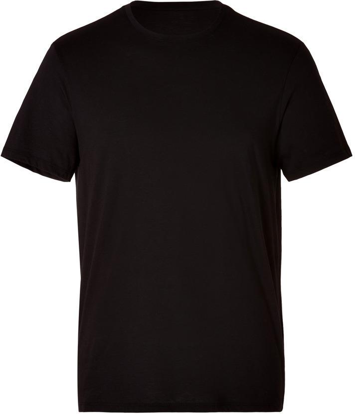 ... Vince Cotton Crew Neck T Shirt In Black