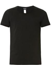 Crew neck stretch cotton jersey t shirt medium 726415