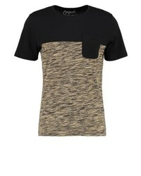 Jorbask slim fit print t shirt black medium 4158734