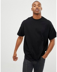 ASOS DESIGN Oversized Fit T Shirt With Crew Neck In Black