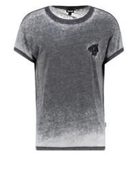 Roberto Cavalli Print T Shirt Black