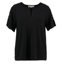 Michael Kors Print T Shirt Black