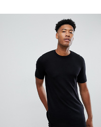 ASOS DESIGN Tline Knitted T Shirt In Black