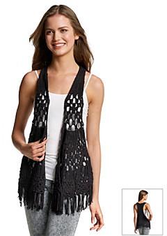 Hippie Laundry Fringe Sleeveless Sweater Vest   Where to buy & how ...