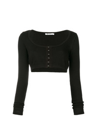 T by Alexander Wang Cropped Top