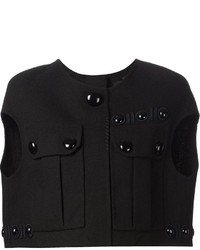 Marc Jacobs Embellished Cropped Top