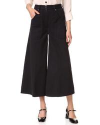 Marc Jacobs Patch Pocket Culotte Jeans