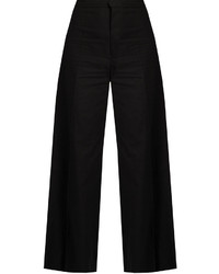 Spanel wide leg cotton blend cropped trousers medium 1156776