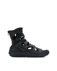 Trippen Cut Detail Boots