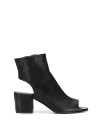 Strategia Cut Out Ankle Boots