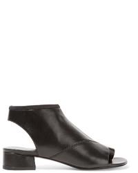 3.1 Phillip Lim Drum Cutout Leather Ankle Boots