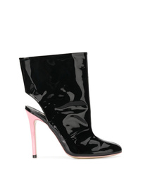 Natasha Zinko Open Back Ankle Boots