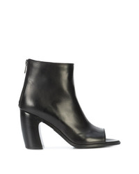 Ann Demeulemeester Open Toe Booties