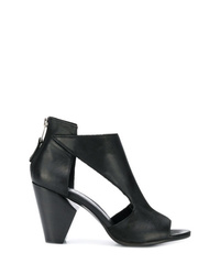 Strategia Open Toe Booties