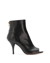 L'Autre Chose Peep Toe Ankle Boots