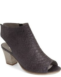 Peep toe cutout bootie medium 624213