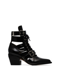 Chloé Black Reilly 60 Embellished Ankle Boots
