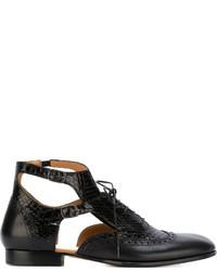 Maison Margiela Cut Out Ankle Boots