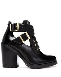 Asos Eiffel Leather Ankle Boots