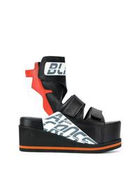 A.F.Vandevorst Cut Out Detail Flatform Boots