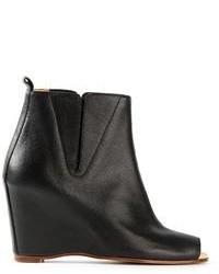 Mm6 maison margiela wedge boots medium 96889