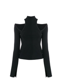 Beaufille Cut Out Shoulders Blouse
