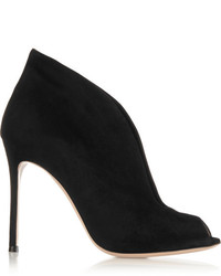 Vamp 105 suede ankle boots black medium 147280