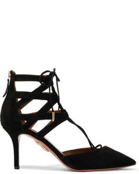 Belgravia suede pumps black medium 756592