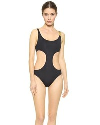 Moschino Cutout One Piece Swimsuit