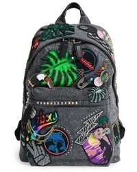 Marc Jacobs Paradise Biker Backpack Black