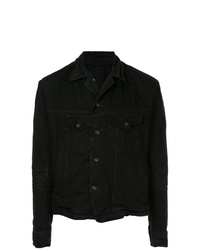 Julius Asymmetric Denim Jacket