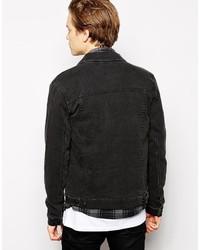ebad52e4c34 Asos Brand Denim Jacket In Skinny Fit In Black, £52 | Asos ...