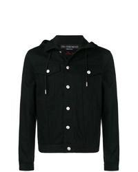 Alexander McQueen Hooded Denim Jacket