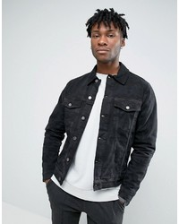 Hoxton Denim Jacket Camo Denim