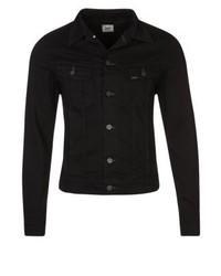 Rider denim jacket clean black medium 3832583