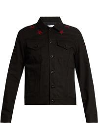 Givenchy Star Appliqu Denim Jacket