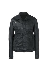 Rick Owens DRKSHDW Wet Look Jacket