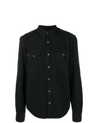 Givenchy Chest Pocket Denim Shirt
