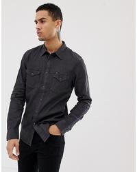 5215eb76 Denim Shirts for Men | Men's Fashion | Lookastic UK