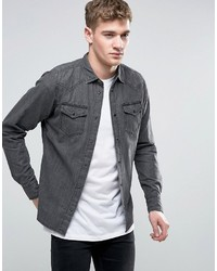Diesel New Sonora E Denim Shirt Slim Fit